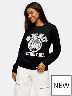 topshop-college-sweatshirt-black