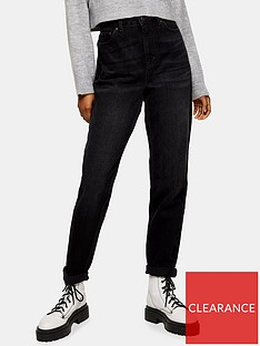 topshop-worn-jeans-black