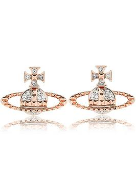 vivienne-westwood-mayfair-bas-relief-earrings-rose-gold