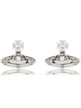 vivienne-westwood-pina-bas-relief-earrings-silver