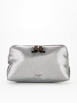 ted-baker-bow-glitter-washbag-silver