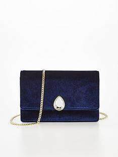 ted-baker-teardrop-crystal-velvet-evening-bag-navy