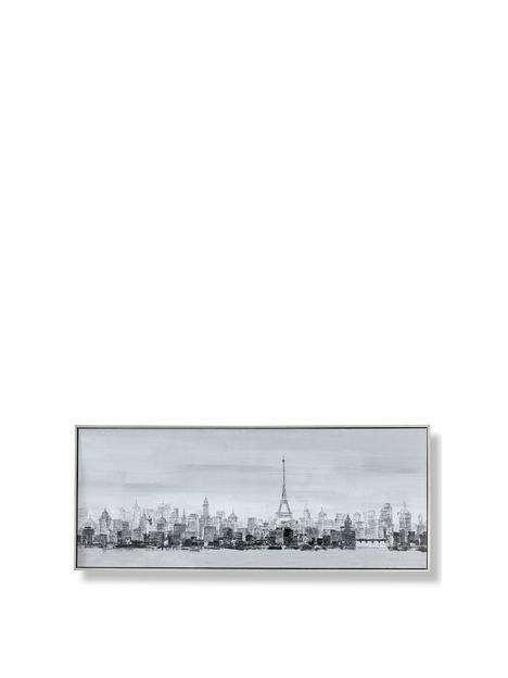 graham-brown-bonne-nuit-paris-framed-printed-canvas-with-handpaint-detail