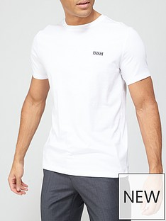 hugo-dero-small-chest-logo-t-shirt-whitenbsp
