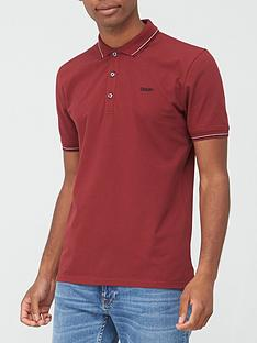 hugo-dinoso-polo-shirt-red