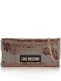 love-moschino-chainmail-foldover-cross-body-bag-rose-gold