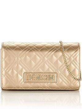 love-moschino-patent-quilted-cross-body-bag-gold