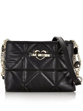 love-moschino-quilted-cross-body-bag-black