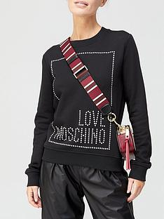 love-moschino-stud-logo-box-sweatshirt-black