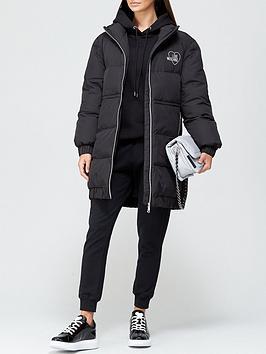 love-moschino-heart-logo-mid-length-padded-coat-black