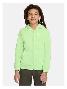nike-nsw-hoodie-full-zipnbspclub-hoodie-green