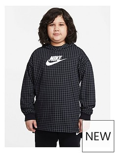 nike-boys-nsw-french-terry-fleece-top-blackwhite