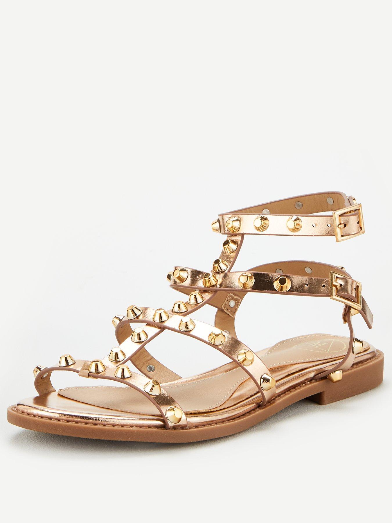black and gold heels uk