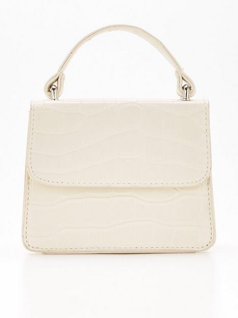 missguided-missguided-top-handle-croc-mini-tote-bag-cream