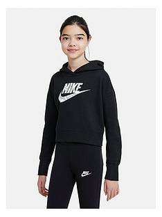 nike-girls-nsw-crop-hoodie-black