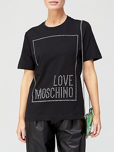 love-moschino-stud-logo-box-t-shirt-black