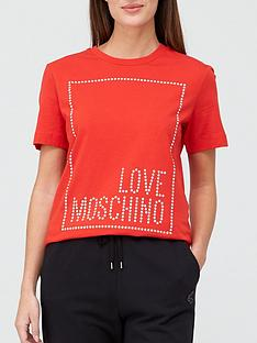 love-moschino-stud-logo-box-t-shirt-red