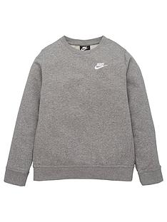nike-boys-nsw-long-sleevenbspcrew-club-sweat-top-grey
