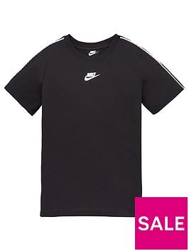 nike-boys-nsw-repeat-short-sleeve-tee-black-white