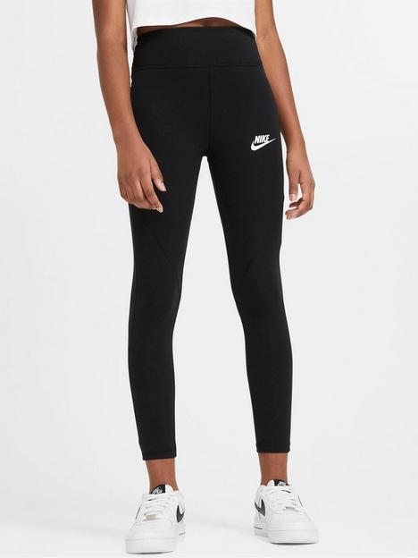 nike-girls-nsw-favorites-gx-hw-leggings-blackwhite
