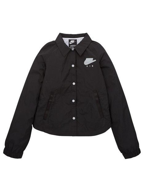 nike-girls-nswnbspair-coach-jacket-black