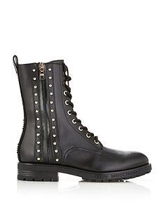 love-moschino-stud-and-zip-biker-boots-black
