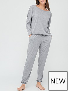 v-by-very-off-the-shoulder-slouchy-pyjamas-grey-marl
