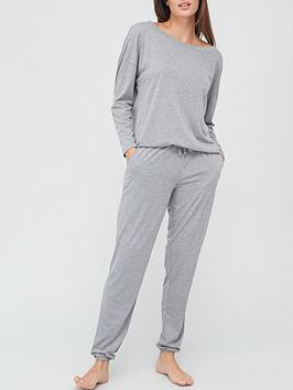 v-by-very-off-the-shoulder-slouchy-pyjamas-grey-marl