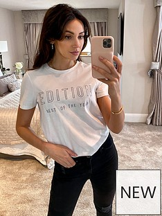 michelle-keegan-oversized-embroidered-slogan-t-shirt-white
