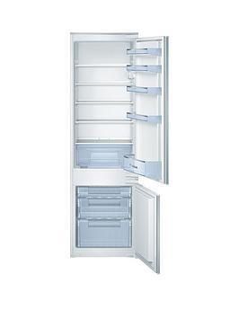 Bosch Kiv38X22Gb 54Cm Width, Built-In Fridge Freezer - White Best Price, Cheapest Prices