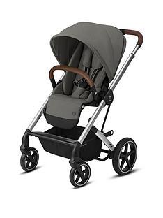 cybex-balios-s-lux-silver-frame-version-luxury-size-pushchair-soho-grey