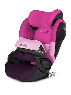 cybex-pallas-m-fix-sl-group-123-safety-cushion-car-seat-purple-rain
