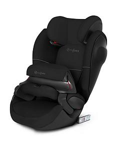 cybex-pallas-m-fix-sl-group-123-safety-cushion-car-seat-pure-black