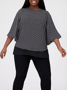 v-by-very-curve-double-layer-tunic