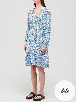 fabienne-chapot-lola-rambling-rose-print-dress-blue