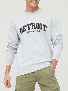 very-man-printed-crew-sweatshirt-grey