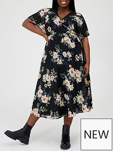 v-by-very-curve-printed-kimono-sleeve-midi-dress-floral-printnbsp