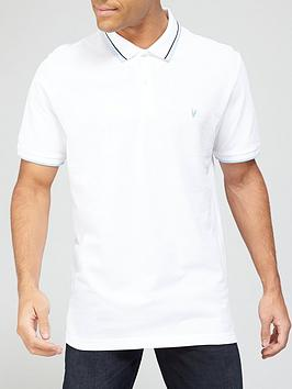very-man-tippednbsppique-polo-white