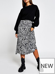 river-island-woven-jersey-mix-sweater-dress-leopard