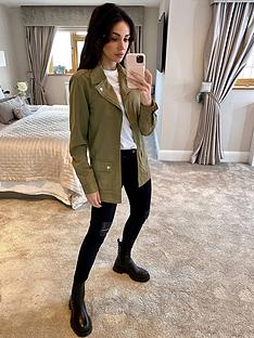 michelle-keegan-utility-tencel-jacket-olive