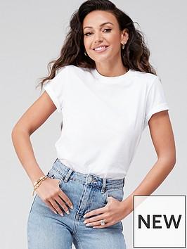 michelle-keegan-short-sleeve-cotton-tee