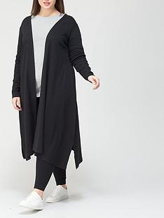 v-by-very-curve-lounge-longline-cardigan-black