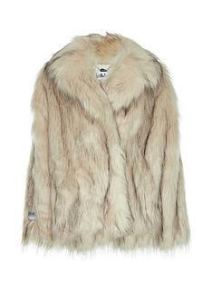 jakke-rita-faux-fur-boxy-jacket-white