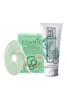 foamie-neqi-stay-safe-kit-hand-gel-100ml-and-foamie-body-bar