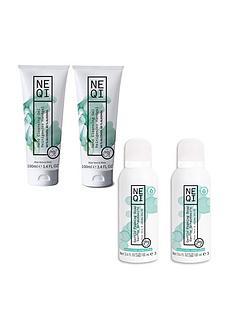 neqi-bundle-2-hand-cleansing-gels-100ml-amp-2-foaming-hand-soaps