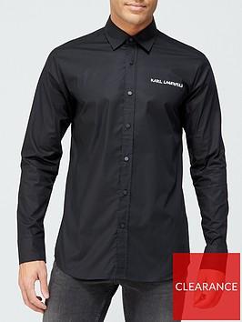 karl-lagerfeld-slim-fit-shirt-black
