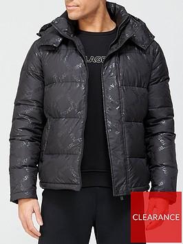 karl-lagerfeld-down-fill-hooded-jacket-black