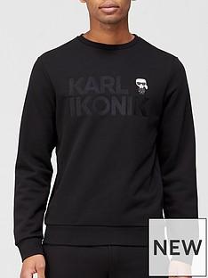 karl-lagerfeld-mini-karl-logo-sweatshirt-black