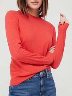 v-by-very-value-super-softnbspcrew-neck-deep-rib-hem-knitted-jumper-red