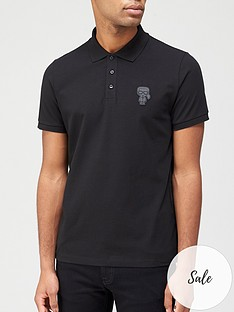 karl-lagerfeld-mini-karl-logo-polo-shirt-black